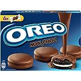 OREO MILK CHOC biscotto cacao con ripieno alla vaniglia ricoperto di cioccolato a latte
