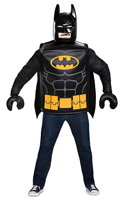 Generique - Disfraz Batman Lego Adulto Talla única: Amazon ...