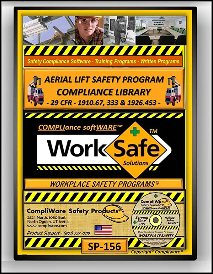 Amazon SP 156 AERIAL LIFT SAFETY PLIANCE LIBRARY