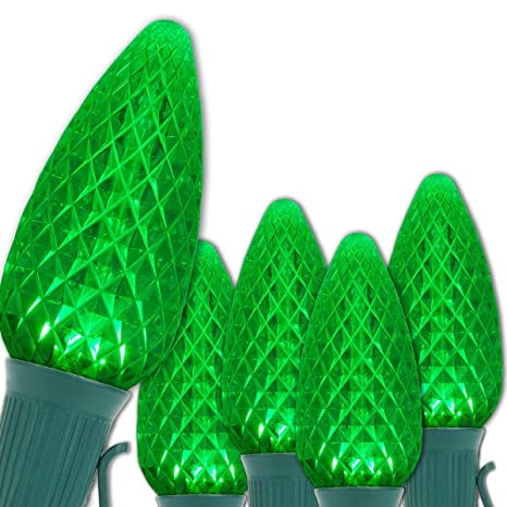 C9 OptiCore LED Commercial Outdoor Christmas Lights – Heavy Duty Christmas  String Lights; Green Wire - Amazon.com : C9 OptiCore LED Commercial Outdoor Christmas Lights