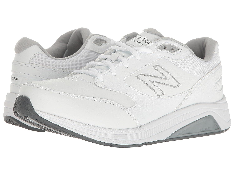 [new balance(ニューバランス)] メンズウォーキングシューズ靴 MW928v3 White/White 9.5 (27.5cm) B - Narrow B07D8HC1F2