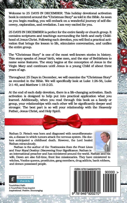 25 Days in December: Nathan D. Pietsch: 9781946920270: Amazon.com: Books