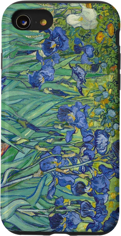 iPhone SE (2020) / 7 / 8 Van Gogh Painting Irises Flowers Art History Phone Cover Case