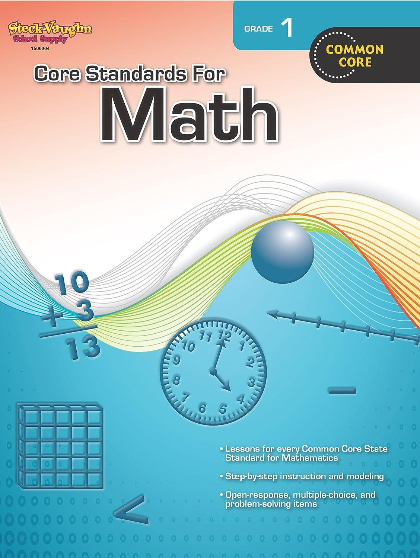 Core Standards for Math: Reproducible Grade 6: STECK-VAUGHN ...