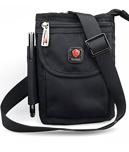 Ranboo Multifunctional Cellphone Purse Crossbody Shoulder Bags Belt Loop  Pouch Travel Waist Packs Strap for iPhone XS Max iPhone 8 Plus 7 Plus Note  8 5 S9  ... 7628df364a8e8
