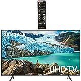 "Samsung Smart TV 58"" inch 4K UHD Flat Screen TV (UN58RU7100FXZA) with HDR, Google, Apple & Alexa Compatible + Remote…"