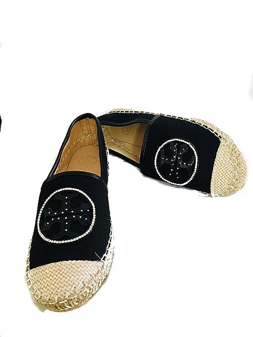 Amazon.com: LOVELY ESPADRILLE WOMEN FLAT SHOES SHINNING STONE.LINDAS ALPARGATAS DE MUJER CON PIEDRAS BRILLANTES.SIZE 36,37,39.: Shoes