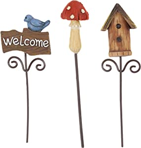 Darice Fairy Mini Pick Garden Supplies, 3 Piece