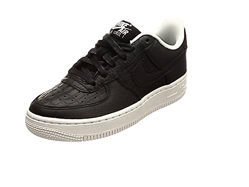 uk availability d61e8 424f6 Nike Air Force 1 Lv8 (GS), Sneakers Basses Mixte Enfant, Noir Black