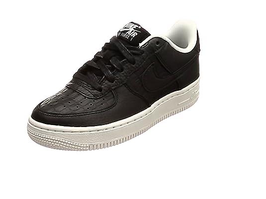 Nike Air Force 1 Lv8 (GS), Zapatillas Unisex para Niños, Negro Black