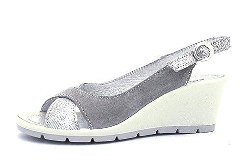 ENVAL SOFT 1283222 Sandalo con Zeppa Donna in Pelle  Amazon.it  Scarpe e  borse 6d39714dcce