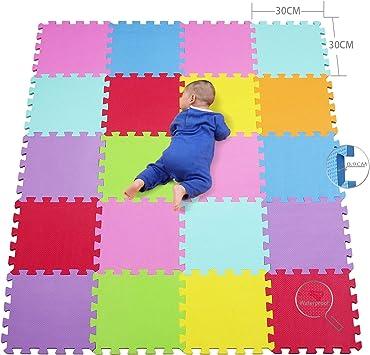 qqpp Alfombra Puzzle para Niños Bebe Infantil Suelo de