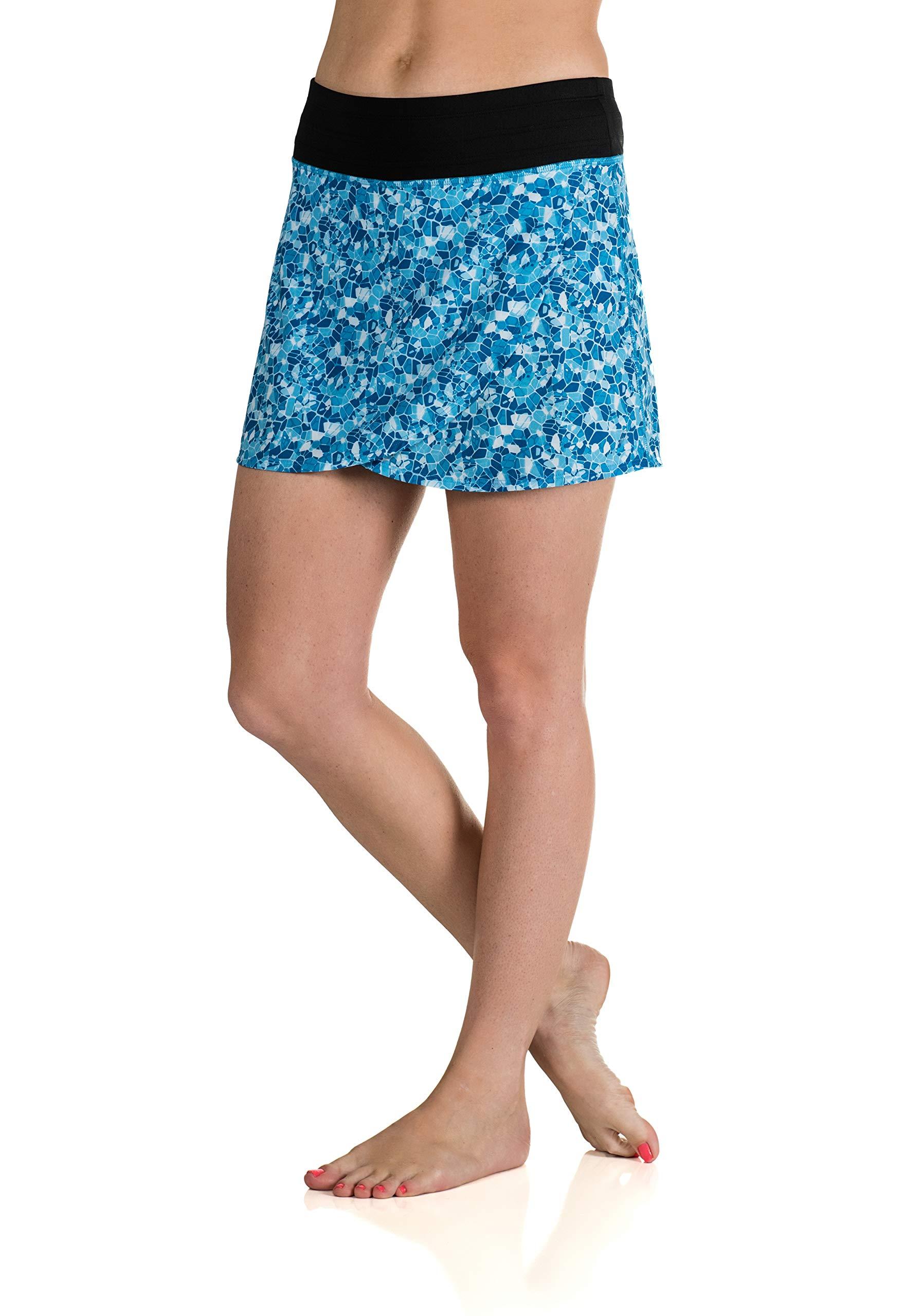 Skirt Sports Women's Hover Skirt, Shatter Print, Medium by Skirt Sports