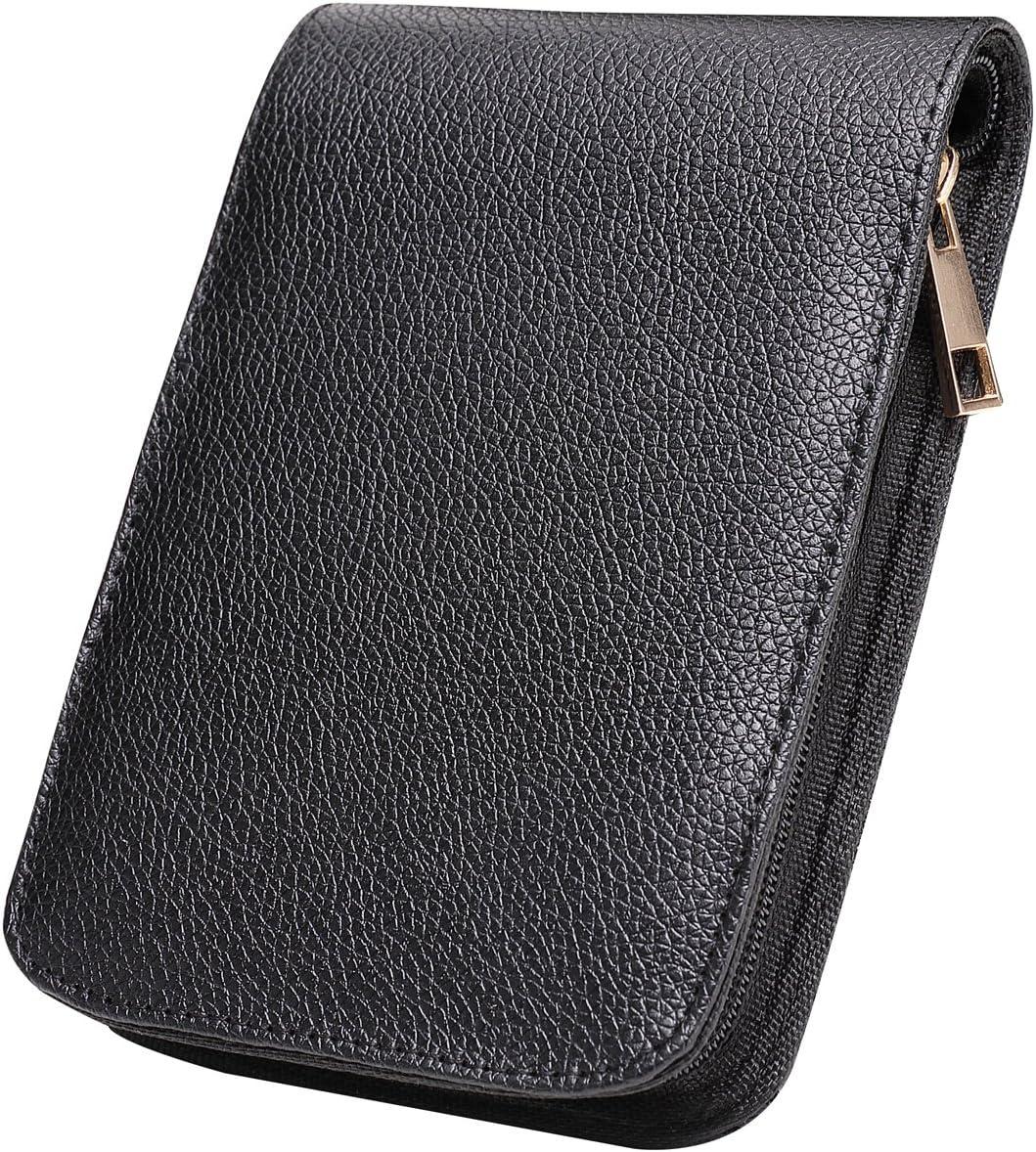 Roller Pen 48 Pens Case Holder Bag Luxury Black Fountain Pen