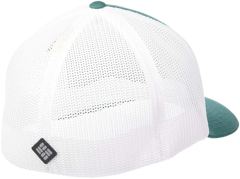 Adjustable Columbia Logo Mesh Ball Cap Breathable