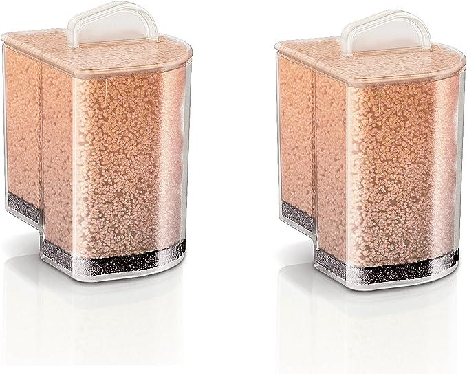 Philips GC002/00 - Pack de 2 cartuchos antical para la gama de centros de planchado Perfect Care Pure, elimina el 99% de la cal: Amazon.es: Hogar