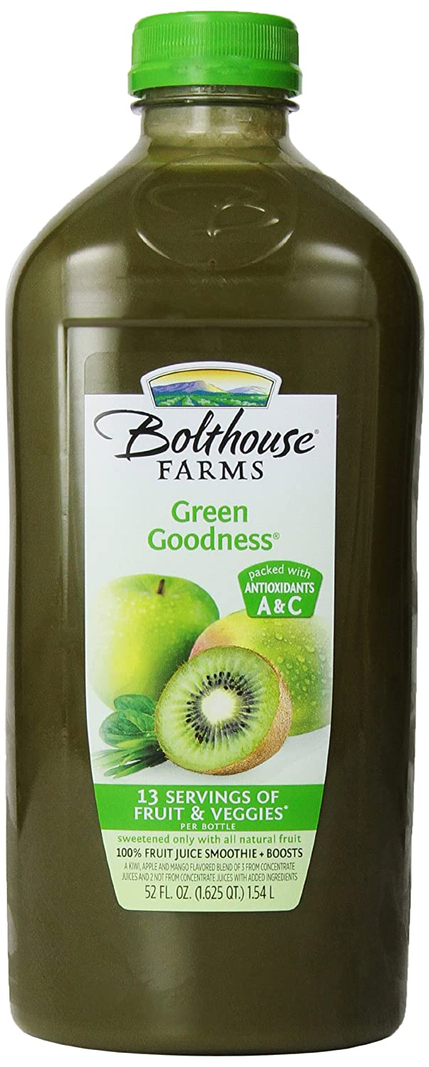 Bolthouse Farms, Green Goodness Smoothie, 52 oz: Amazon.com: Grocery & Gourmet Food