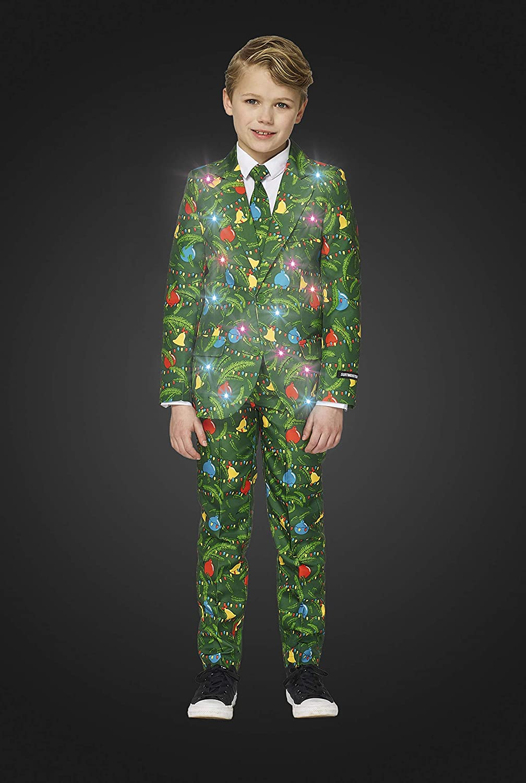 Suitmeister - Trajes de Navidad con Luces para niños con ...