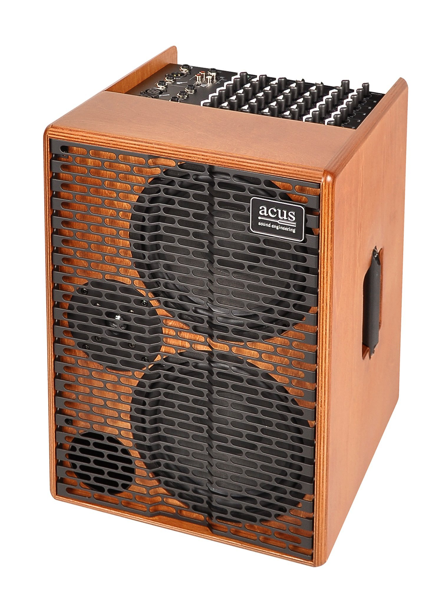 Acus Sound Engineering 03001005 OneforStrings AD Acoustic Guitar Amplifier - Wood by Acus Sound Engineering