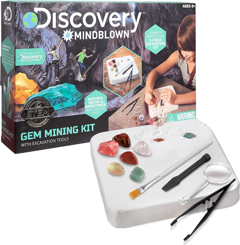 Merchsource Discovery Kids Mindblown Toy Dinosaur Excavation Kit Skeleton