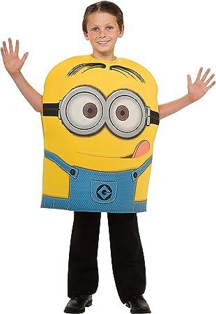Disfraz Minion Dave espuma 5-6 años (110/116): Amazon.es: Juguetes ...