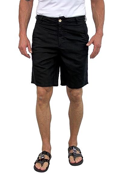 Amazon.com: Aletas cortas para hombre lino caminar ...