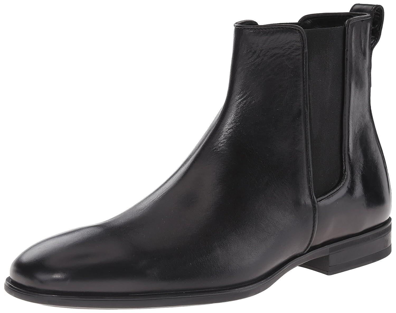 Aquatalia Men's Adrian Chelsea Boot, Black, 10 M US
