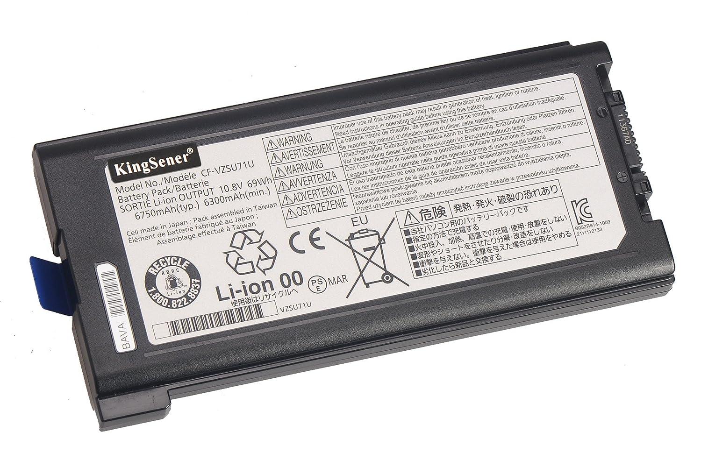 Amazon.com: KingSener Japanese Cell CF-VZSU71U Laptop Battery for Panasonic Toughbook CF-30 CF-31 CF-53 CF-VZSU71U CF-VZSU72U CF-VZSU1430U 69WH: Computers & ...