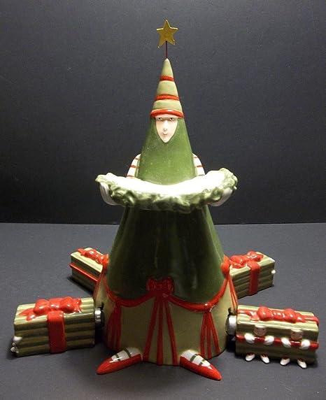 """Department 56 Christmas Krinkles """"Tree Spreader Set"""" (Set of 5)  Christmas - Amazon.com: Department 56 Christmas Krinkles"""