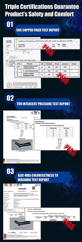 KKUP2U Calcetines de Compresión, Graduado Compresión 20-30mmHg ...
