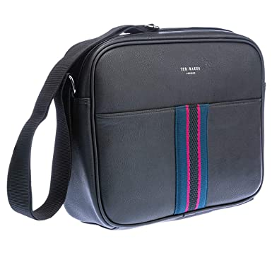 Ted Baker Nicita Black PU Webbing Despatch Bag One Size  Amazon.co.uk   Clothing 3a5e08a8bc298