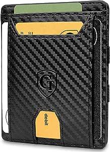 GenTo® FLAPLET II Magic Wallet - Protección RFID - Billetera mágica - Billetera mágica con un Gran Compartimento para Monedas - Incluye Caja de Regalo - Billetera Inteligente y para Hombres