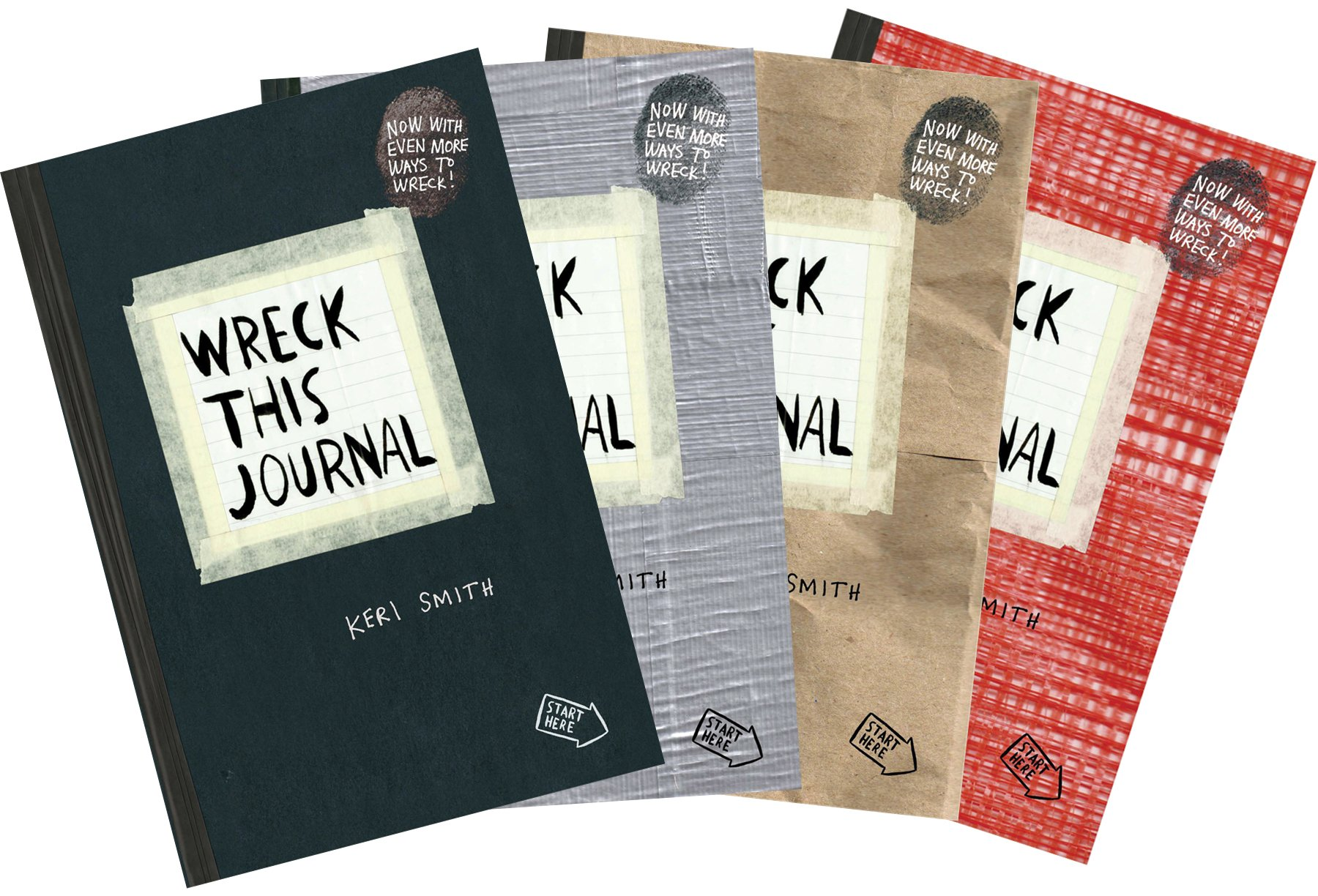 Amazon Wreck This Journal Duct Tape Expanded Ed 9780399162701 Keri Smith Books