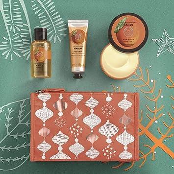 318b3c22789a The Body Shop Mango Beauty Bag
