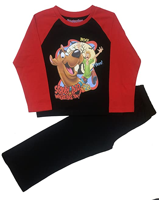Boys Pyjamas Official Scooby Doo 2 3 4 5 6 7 /& 8 Years Old Long