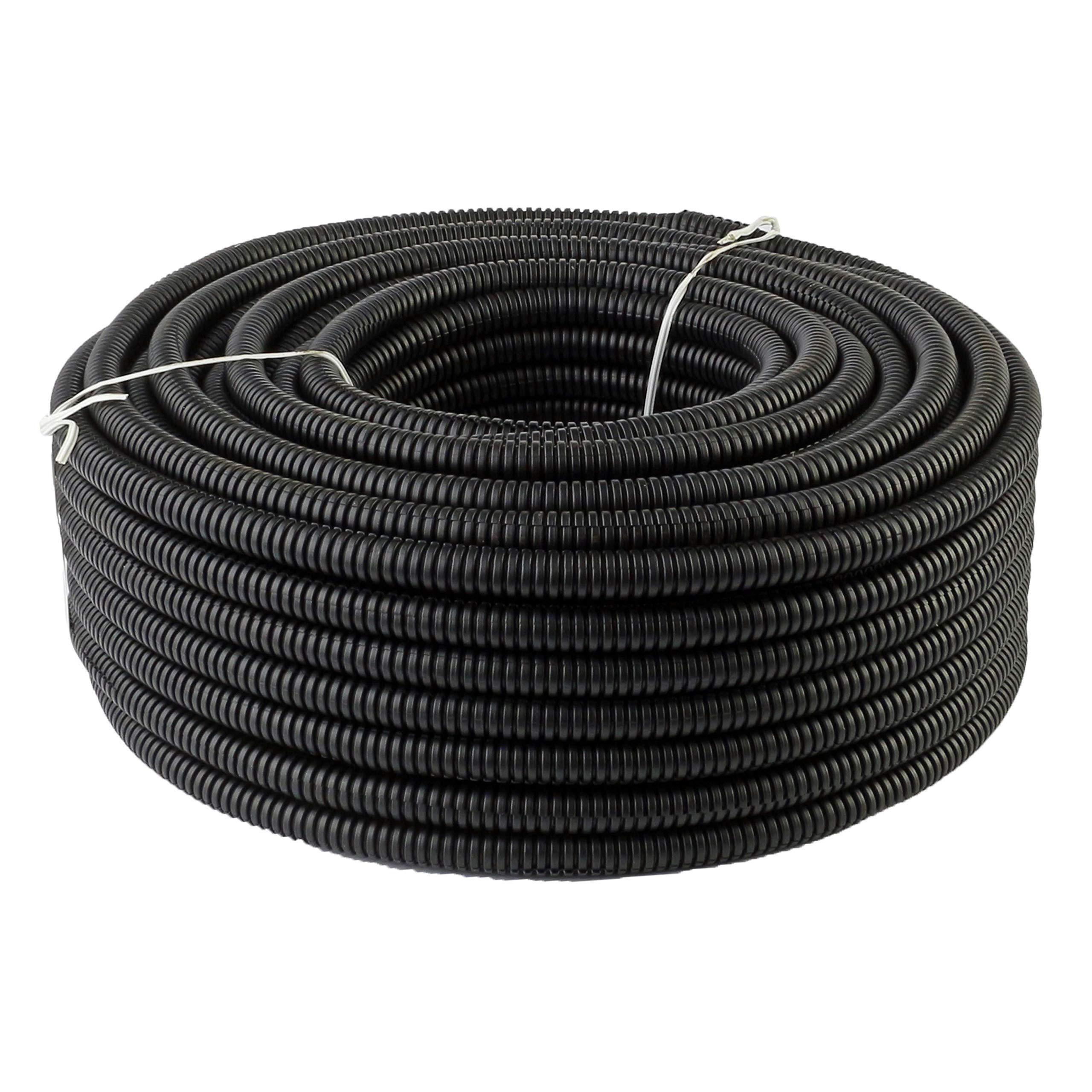 """225FWY 100 Ft 1/4"""" 6mm Split Wire Loom Conduit"""