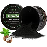 Ezulla Teeth Whitening Powder,Activated Nature Charcoal Bamboo Whitener of Organic Coconut Safe Effective Remove Stains, Whiten Teeth, Enhance Gum Health, Refresh Breath by (2.1oz)