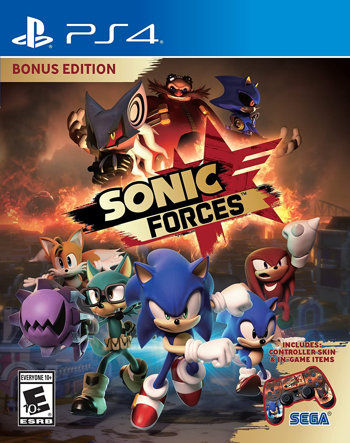 Sonic Forces Bonus Edition - Playstation 4