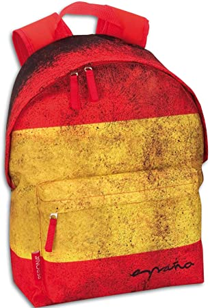 Montichelvo - Mochila con diseño Bandera España, 40 x 28 cm (21002 ...