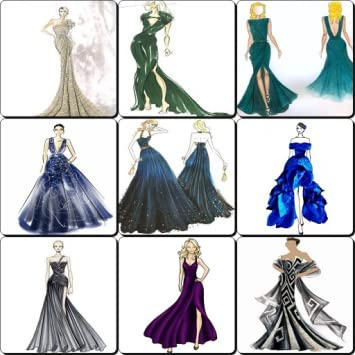 Amazon Sketches Design Evening Dresses 2017 Appstore For Android
