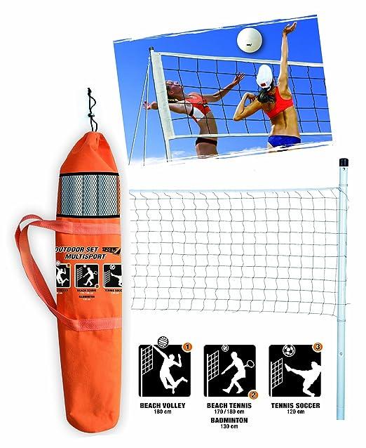 4 opinioni per Set outdoor multisport, kit multisport contenente rete impermeabile altezza