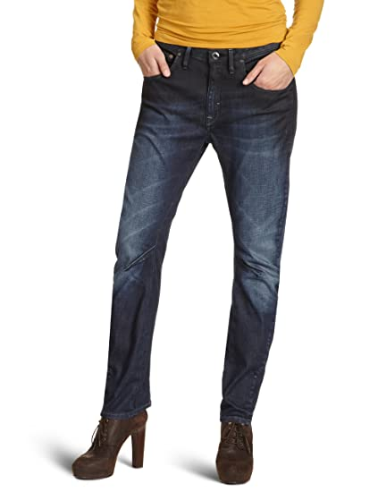 9c59abaf45b Image Unavailable. Image not available for. Color: G-Star Raw Women Jeans  25 W x 30 Arc 3D Tapered ...