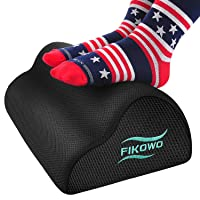 Deals on Fikowo Foot Rest Under Desk with Ergonomic Height
