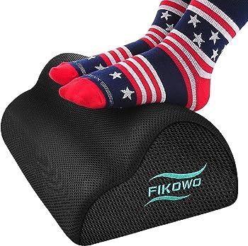 Fikowo Under Desk Foot Rest with Ergonomic Height