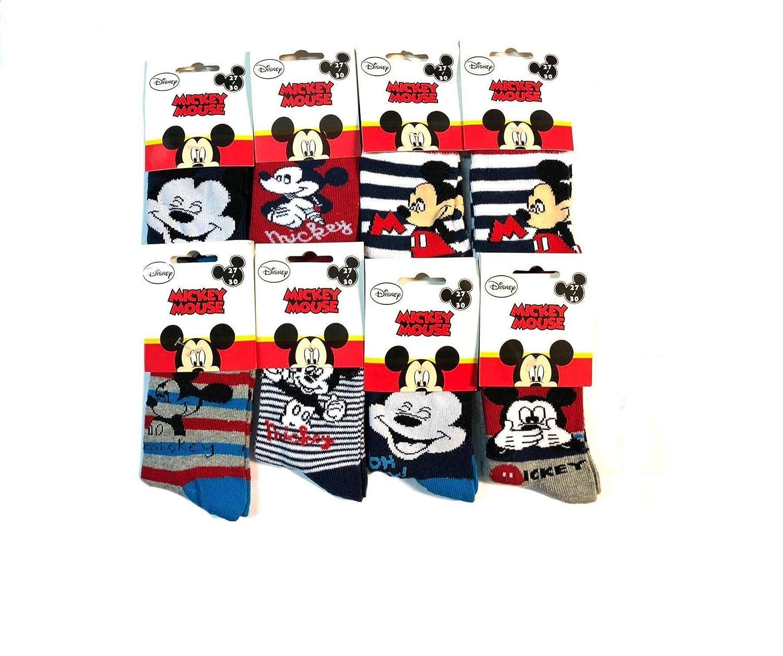 Paquete de 12 Pares de Calcetines Disney MICKEY MOUSE Imagen ...