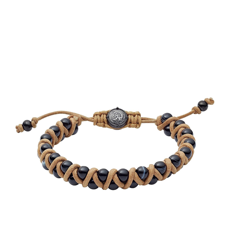 Diesel Men's Black Wrap Bracelet DX1111001