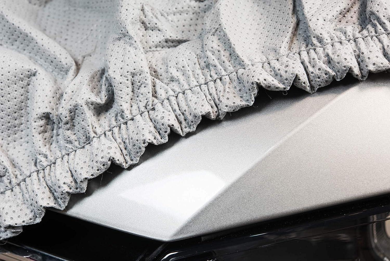 Softgarage 3 Lagig Lichtgrau Indoor Outdoor Atmungsaktiv Wasserabweisend Car Cover Vollgarage Ganzgarage Autoplane Autoabdeckung 102010 0583286 Auto