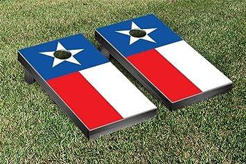 texas flag themed cornhole bean bag toss game - Corn Hole Sets