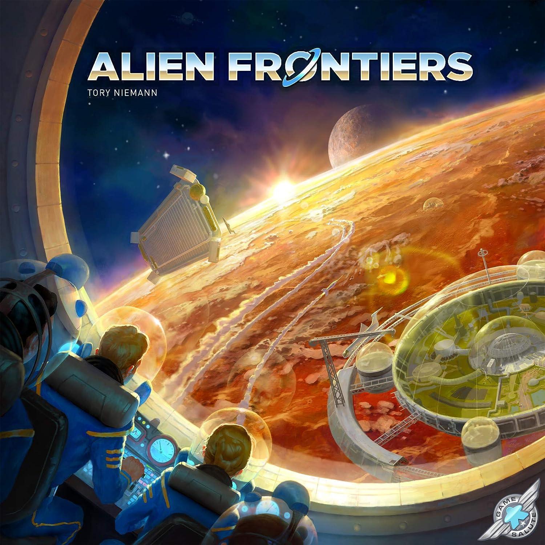 Game Salute Alien Frontiers 5 edición: Amazon.es: Juguetes y juegos