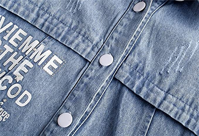 Hot Sales Spring Denim Jacket Women NEW New Fashion Washing Frayed Long Slim Jeans Jackets Coat Female jaqueta feminina at Amazon Womens Coats Shop